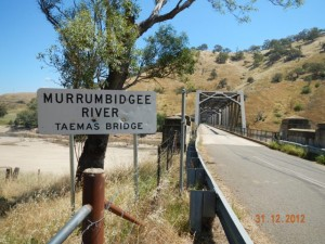 Murrumbidgee River crossing